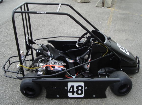 2007 Prowler Champ shown with F200 engine package.